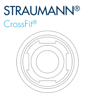 Straumann® Crossfit® Bone Level Compatible