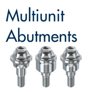 Compatible Multiunit® Abutments